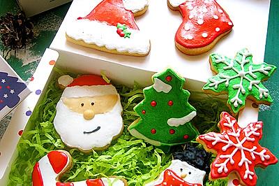 圣诞糖霜饼干#九阳烘焙剧场#
