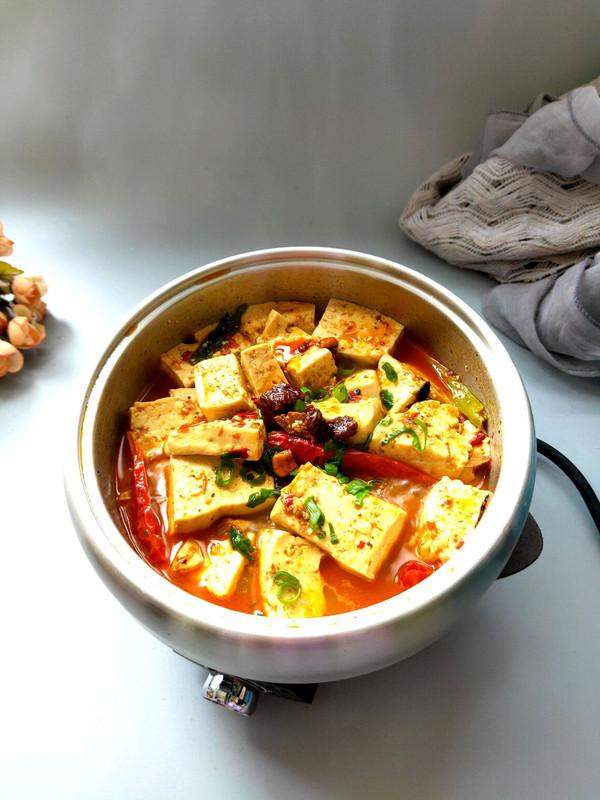 浓香淳厚的玉米牛肉酱煨豆腐