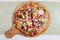 火腿披萨(简单版)的做法