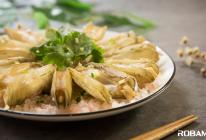 海盐焗竹蛏的做法