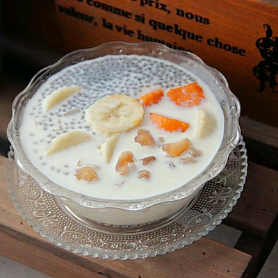 夏日冰品 港式甜品 白雪黑珍珠(附白雪汁调配方法)