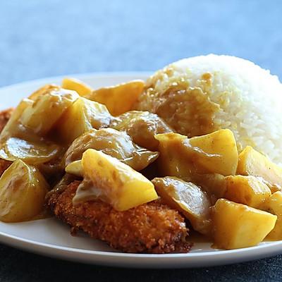 [简单易学]咖喱猪排饭