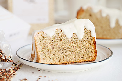 酸奶藜麦戚风蛋糕