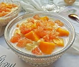 低糖版杨枝甘露#百变水果花样吃#的做法