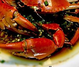 葱油青蟹的做法