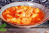 #硬核菜谱制作人#番茄虾仁滑蛋的做法