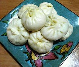香菇油菜包子的做法