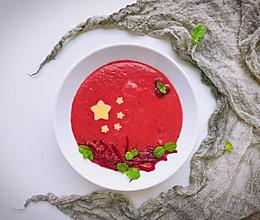 #秋天怎么吃#爱我中华—爱国版甜菜根浓汤的做法