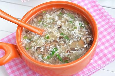 ——香菇牛肉羹#12道锋味复刻#
