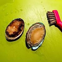 春季养生鲜鲍鱼土鸡汤的做法图解2