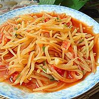 番茄土豆丝的做法图解7
