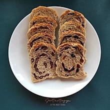 无油无糖减脂全麦面包