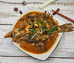 #下饭红烧菜#营养美味的红烧多宝鱼的做法
