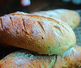 燕麦坚果粗粮面包的做法