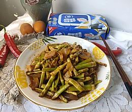 春笋烧腊肉#厨房有维达洁净超省心#的做法