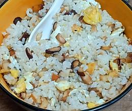 香菇爆米的做法