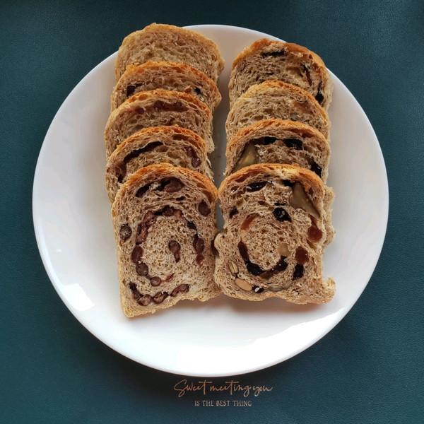 无油无糖减脂全麦面包的做法