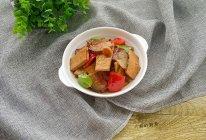 腊肉烧豆干的做法