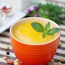 防暑降温:果味豆浆布丁