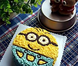 小黄人造型芝士蛋糕的做法