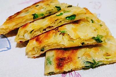 香酥葱花饼