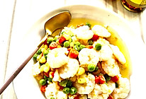 #太太乐鲜鸡汁芝麻香油#炒虾仁的做法