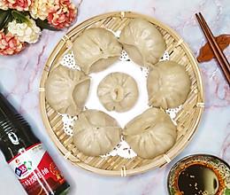 冬至将至——猪肉大葱烫面蒸饺。的做法