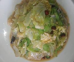 炝炒牛心菜的做法