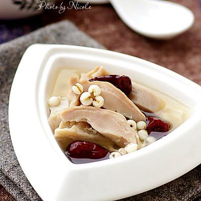 薏米腐竹煲猪肚