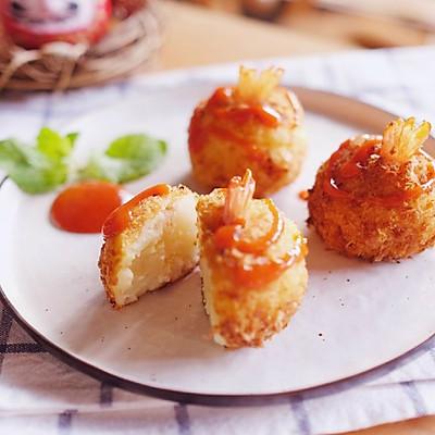 土豆泥虾球 日食记