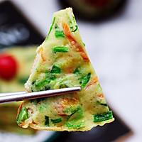 #春天肉菜这样吃#鹅蛋菠菜早餐饼的做法图解17