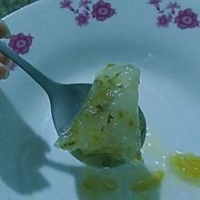 桂花西米粽子