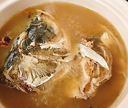 天麻川芎白芷鱼头汤的做法