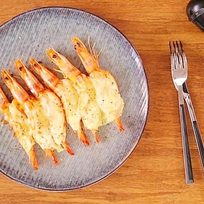 芝士焗烤虾