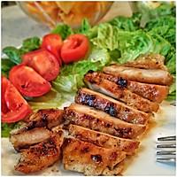 超简单超好吃的香煎鸡胸肉#急速早餐#的做法图解5