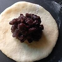 牛奶蜜红豆小餐包-面包机免油版的做法图解5
