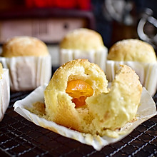 #秋天吃什么#糯米金桔小餐包
