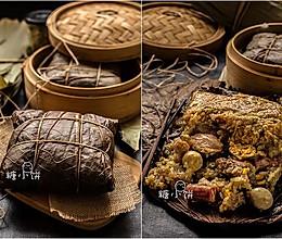 【全家福荷叶大肉粽】误打误撞的糯米鸡的做法