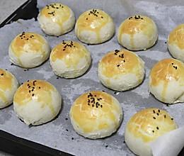 完美复刻轩妈雪媚娘红豆沙蛋黄酥的做法
