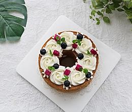 #快手又营养,我家的冬日必备菜品#1次成功零失可可奶油蛋糕的做法
