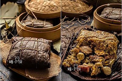 【全家福荷叶大肉粽】误打误撞的糯米鸡