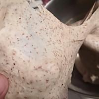 黑啤核桃乡村面包的做法图解4