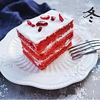 红丝绒蛋糕#我的莓好食光#的做法图解17