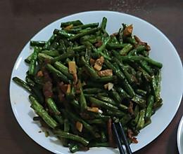 豇豆炒肉丝的做法