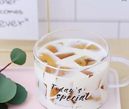 超适合夏天的白桃乌龙椰汁茶冻的做法
