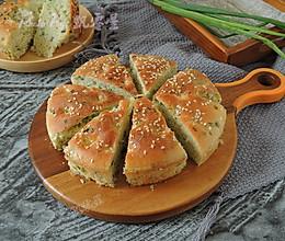烤箱版发面葱油饼的做法
