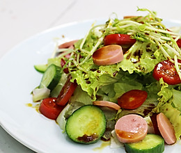 油醋生菜沙拉的做法