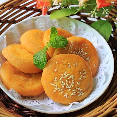 椰香薯蓉芋饼