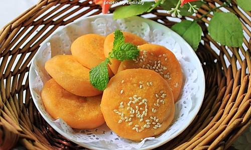 椰香薯蓉芋饼的做法