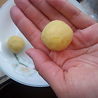 暖冬小吃——芝心地瓜丸的做法图解5